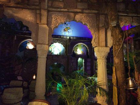 Jhankar Restaurant interior