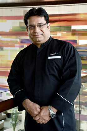 Chef Deepak Bhatia