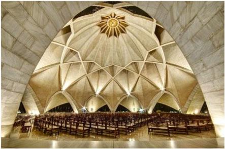 Lotus Temple inside