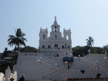 Church outside goa
