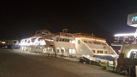 evening cruise at Hotel Panaji Regency