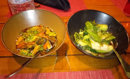 Schezuan crispy vegetables