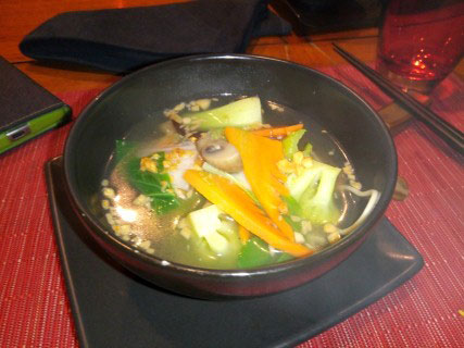mix soup