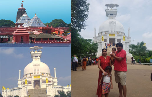 Jagannath Temple and Shanti Stupa