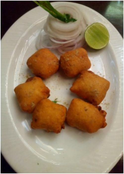 Paneer Pakoda in Goldfinch hotel food Festival