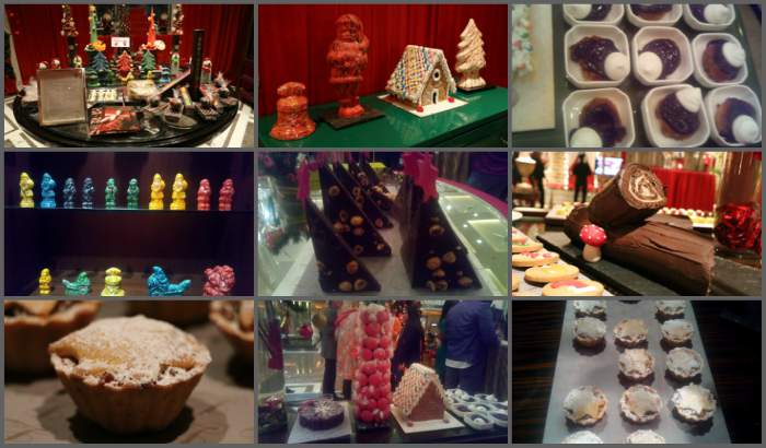 Christmas edible items, The Leela Ambience, Gurugram