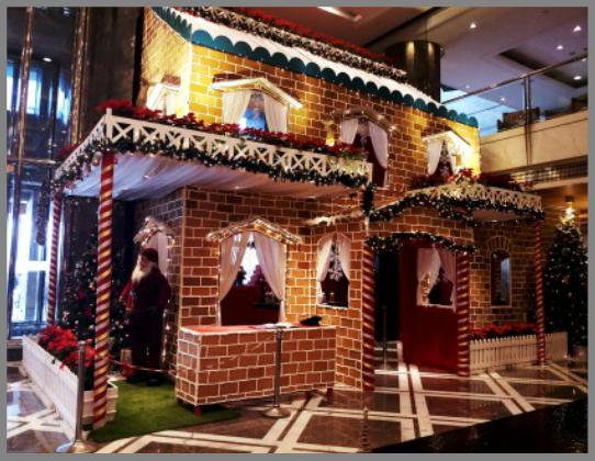 Gingerbread House, The Leela Ambience, Gurugram 2017