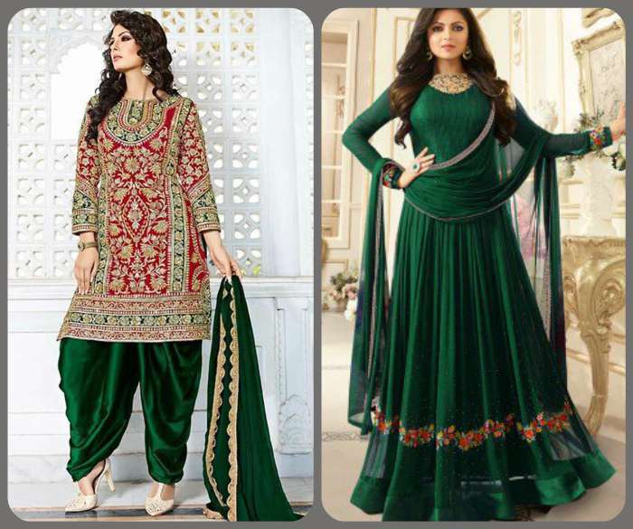 Salwar kameez and Anarkalis