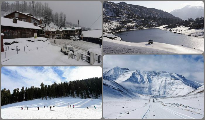 Witness the Magic of Snowfall at these Snow Escapes in India