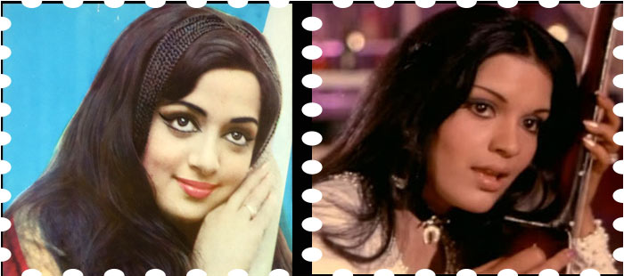 colourful 70s hairstyle in bollywood