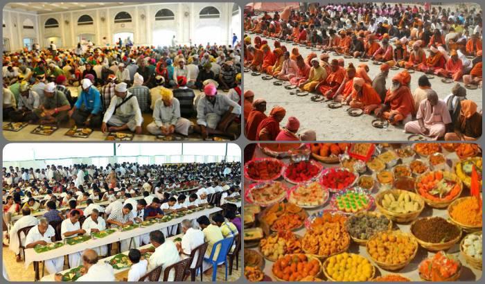 Bhog-Bhandara-Langar-Annadanam in India