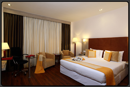 Sarovar Portico rooms