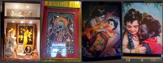 Beautiful Lord Krishna Painiting