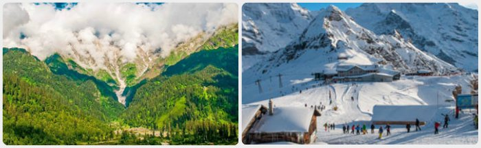 Manali is place for adventure lovers & newly wedded couples