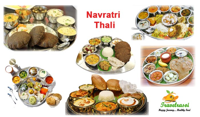 Navratri Thali in India