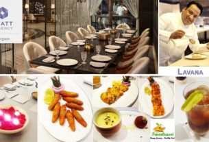 Lavana restaurant at Hotel Hyatt Regency, Gurgaon