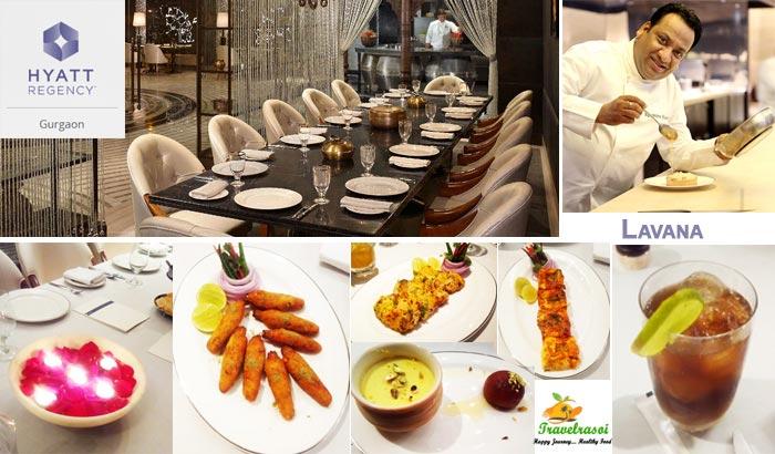 Lavana restaurant at Hotel Hyatt Regency, Gurgaon