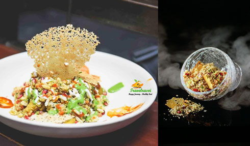 Quinoa Bhel by Chef Vaibhav Bhargava