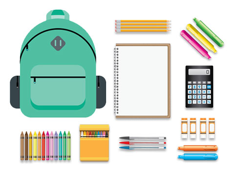 School Supplies for Child