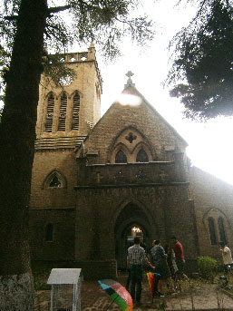 Kasauli oldest church