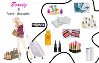Beauty and Travel Essential for women