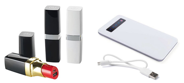 lipstik power bank for tech savvy