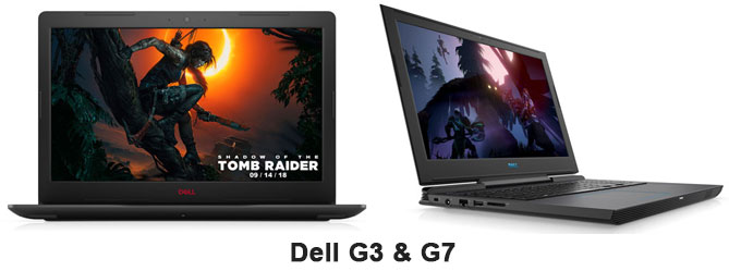 Dell G3 and G7