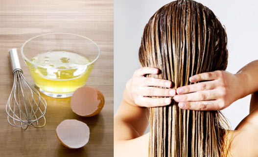 egg whites for hair