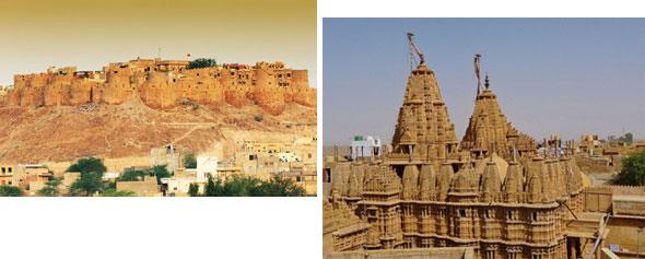 Jaisalmer Fort and Jain Temple