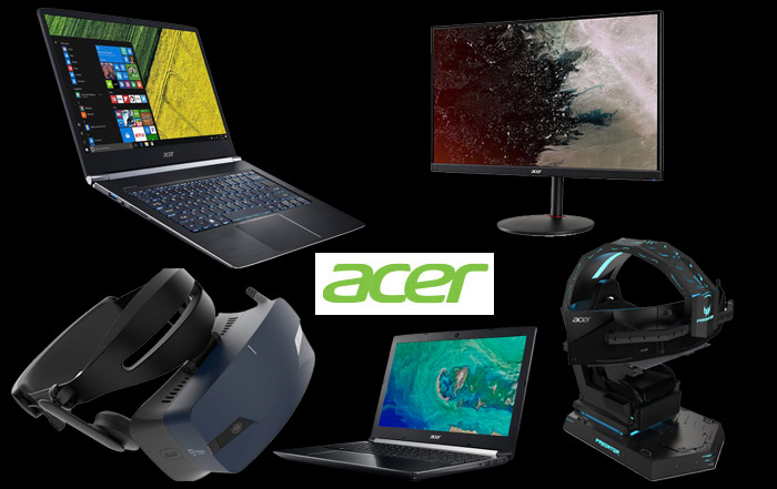 Acer announces a breakthrough product line-up before IFA 2018!