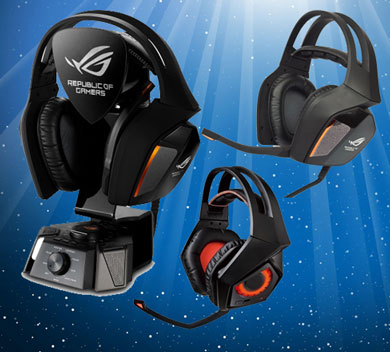Asus ROG Centurion gaming headsets
