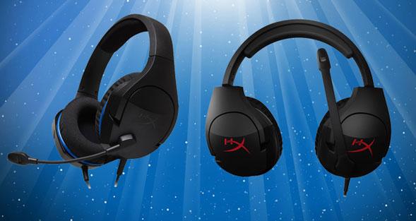 HyperX Cloud Stinger gaming headsets