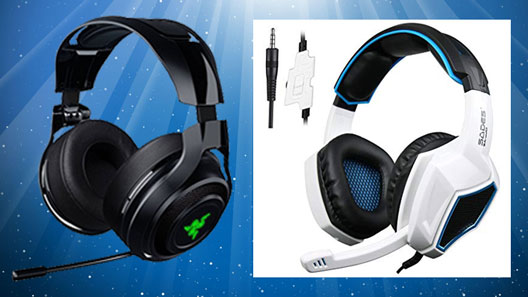 Razer ManO'War gaming headsets
