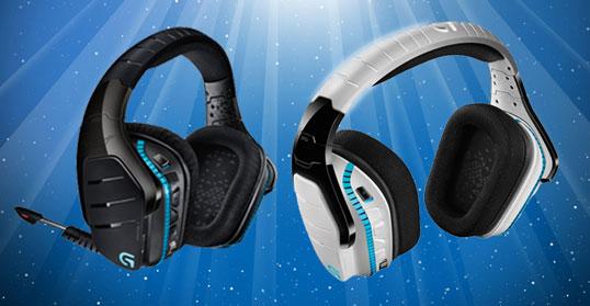Logitech G933 Artemis Spectrum gaming headsets