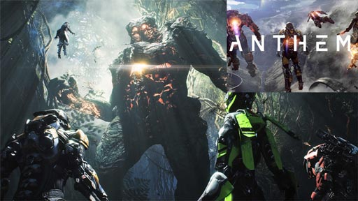 Anthem upcoming games