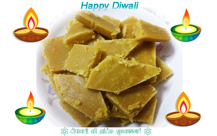 Besan ki Barfi, Diwali Special