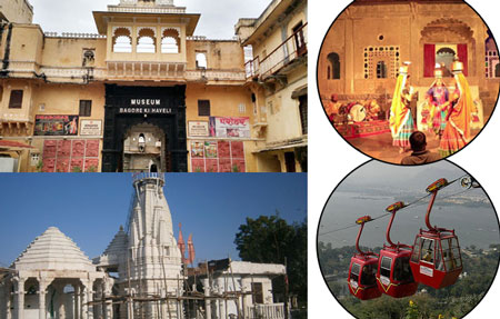 Karni Mata and Bagore ki Haveli Udaipur