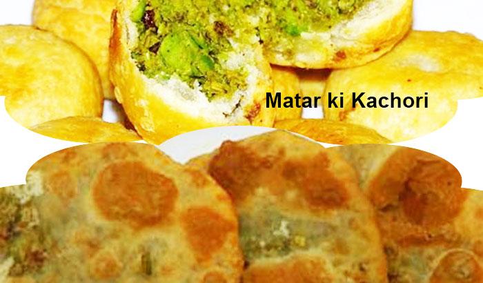 Delicious and Crispy Matar ki Kachori