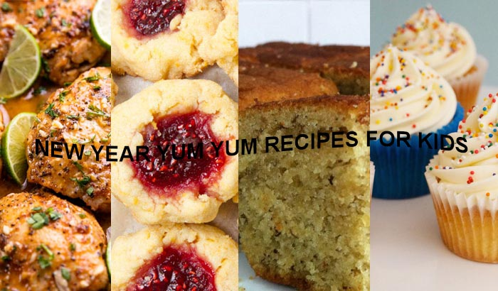 New Year Recipes to Make Your Kids Go Yum-Yum