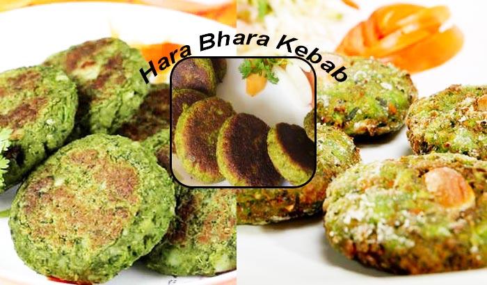 Spicy, Hot Hara Bhara Kebab