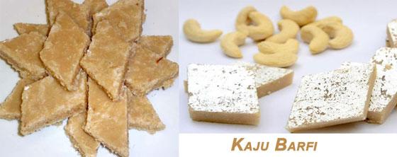 Kaju Barfi for Holi Snacks