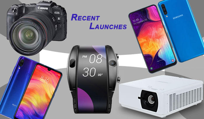 Recent Launches gadgets