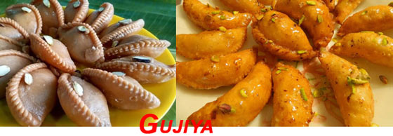 Otas Gujiya for Holi Snacks
