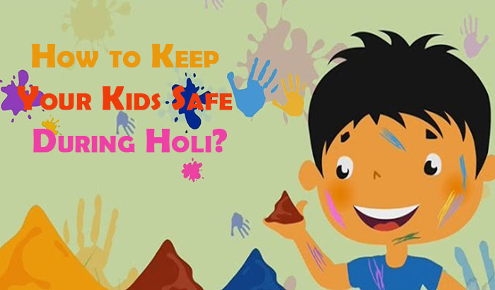Holi Safety for Kids