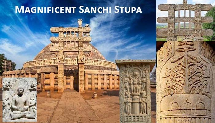 Magnificent Sanchi Stupa