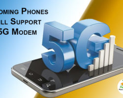 Phones Will Support 5G Modem