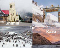 Road Trip from Shimla to Kaza