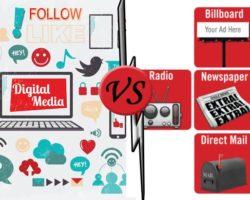 Digital Media & Traditional Media