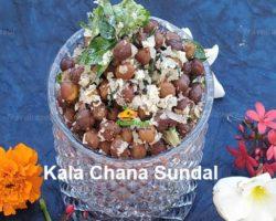 Kala Chana Sundal