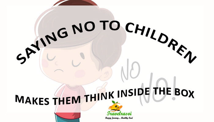 saying no to children